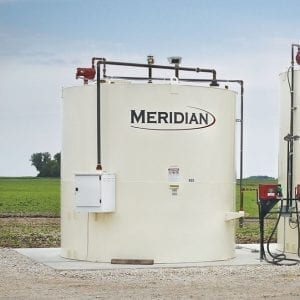 Meridian Double Wall Vertical Fuel Tanks
